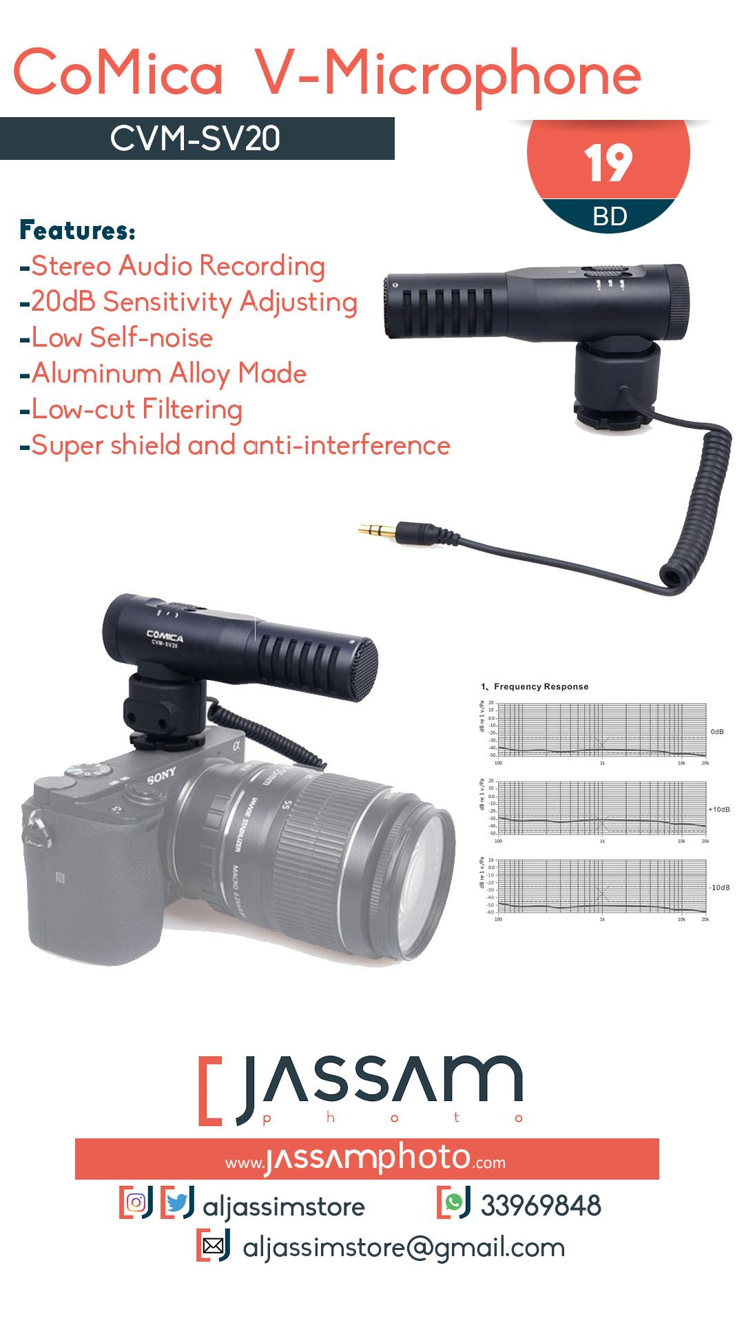 Microphone CVM-SV20