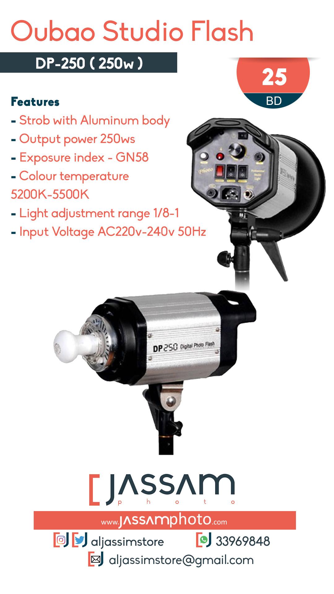 Studio Flash DP-250