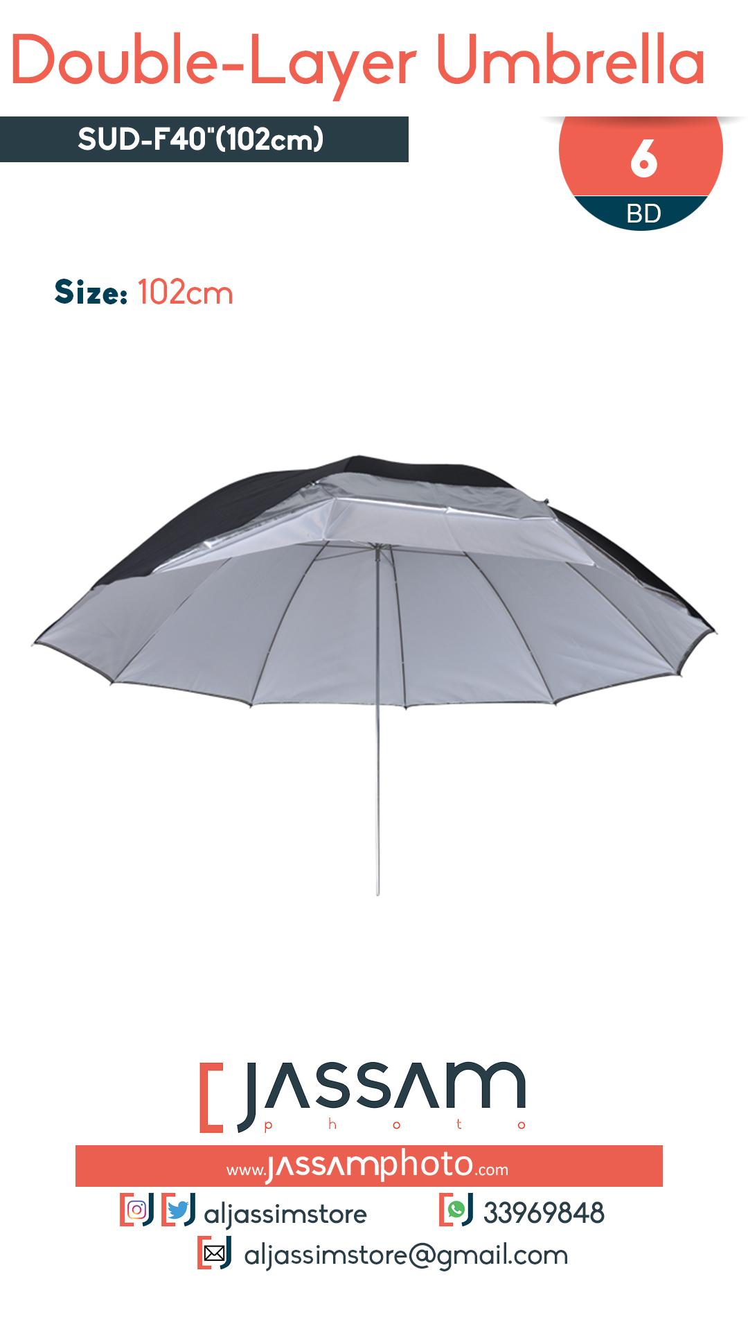 Double Layer Umbrella 102cm