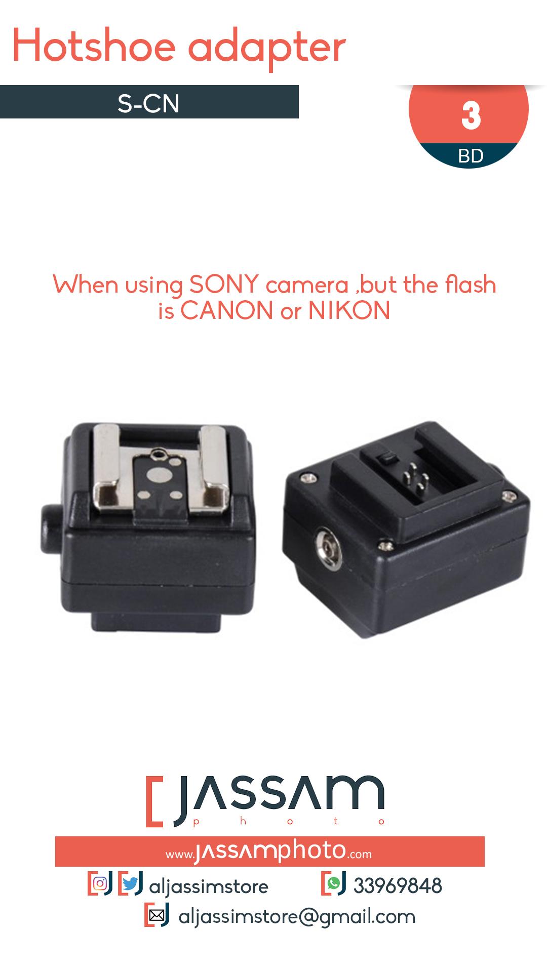 Hotshoe Adapter SN-CN