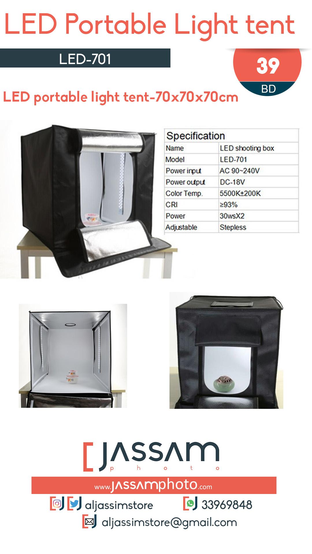 LED-701 Portable Light Tent