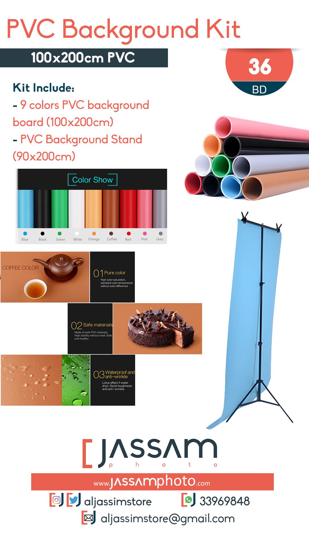 PVC Background Kit