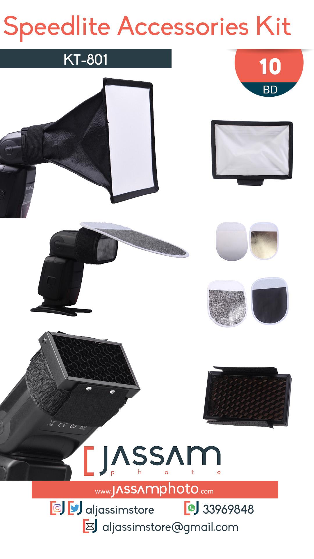 Speedlite Accessories Kit KT-801