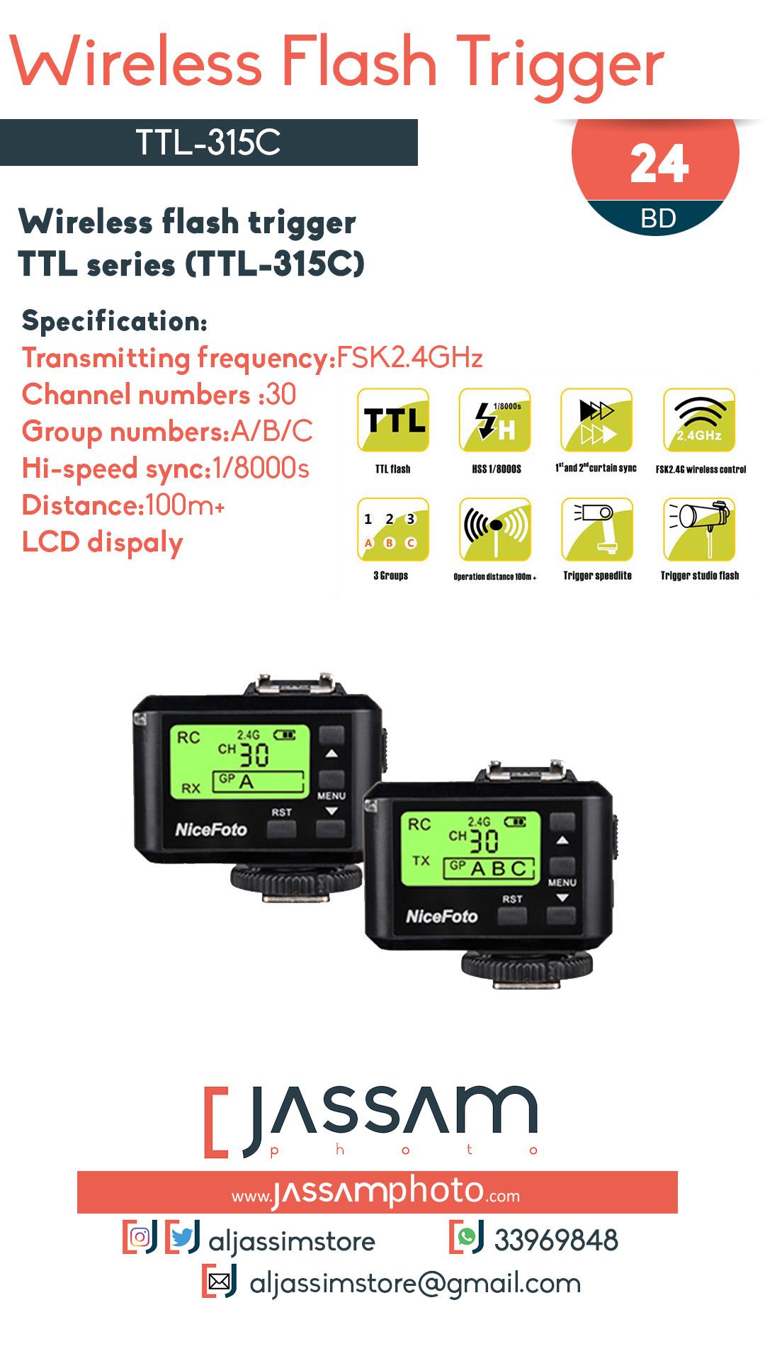 Flash Trigger TTL-315C