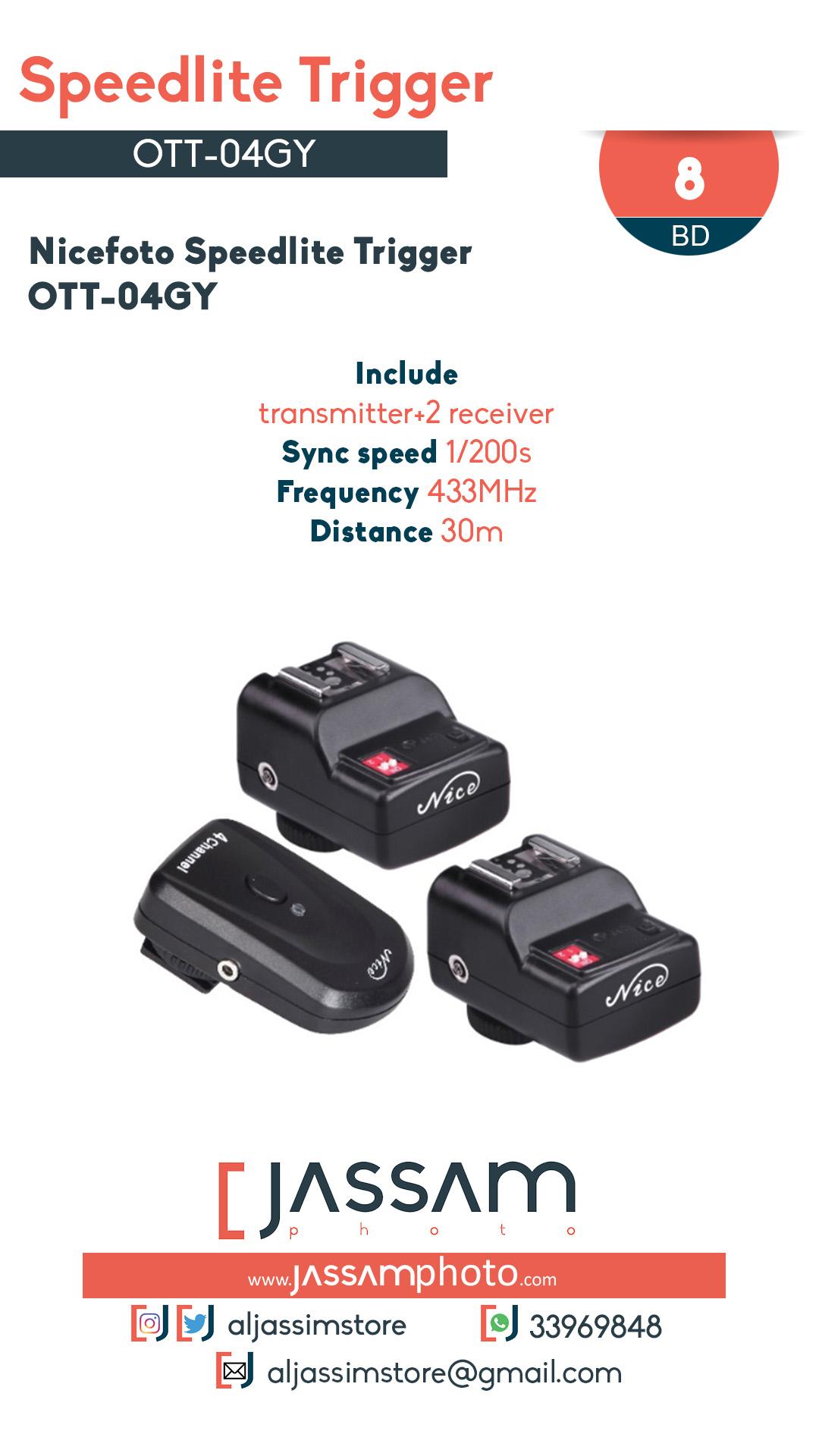 Speedlite Trigger OTT-04GY